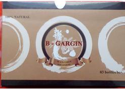 VIÊN TỎI ĐEN HỒNG SÂM B-GARGIN - BLACK GARLIC RED GINSENG