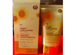 KEM CHỐNG NẮNG THE FACE SHOP SPF 45 - NATURAL SUN ECO POWER LONG-LASTING SUN