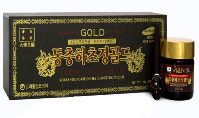 Cao Đông Trùng Hạ Thảo korea dong chung ha cho extract gold