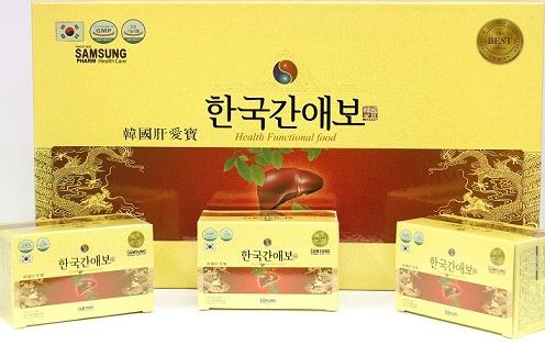  Viên bổ gan Hàn quốc AEBO