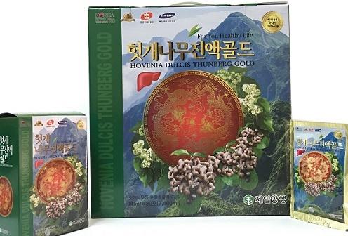 Nước bổ gan rồng đỏ Hovenia Dulcis Nongchuksan