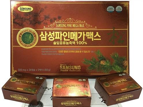 Viên tinh dầu thông đỏ Keukdong Hàn Quốc