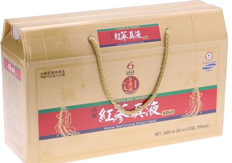 Tinh chất hồng sâm 6 năm tuổi Daedong 100% 30 gói x 80ml