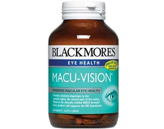 THỰC PHẨM CHỨC NĂNG BỔ MẮT BLACKMORES MACU-VISION 150 VIÊN ÚC