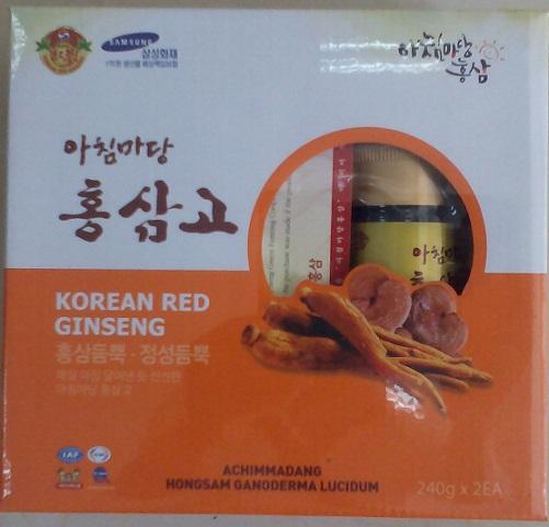 Cao hồng sâm linh chi Geum san