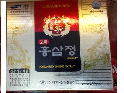 Cao hồng sâm royal gold daehan