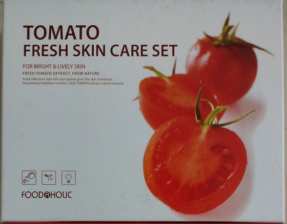 Bộ mỹ phẩm dưỡng da cà chua Foodaholic