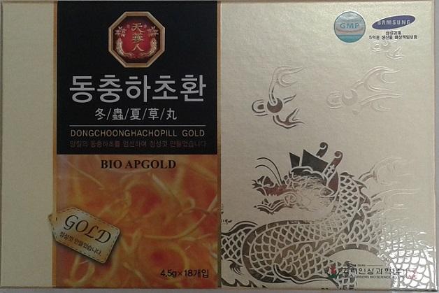 Viên Đông trùng hạ thảo Bio scence - dongchoonghachopill gold