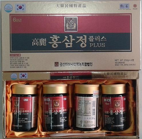 Cao hồng sâm daehwapharma - 250 g* 4 lọ