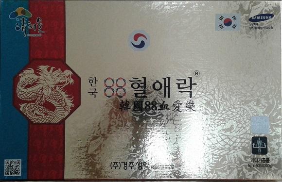 Viên uống ổn định huyết áp, tiểu đường, mỡ máu Hàn Quốc