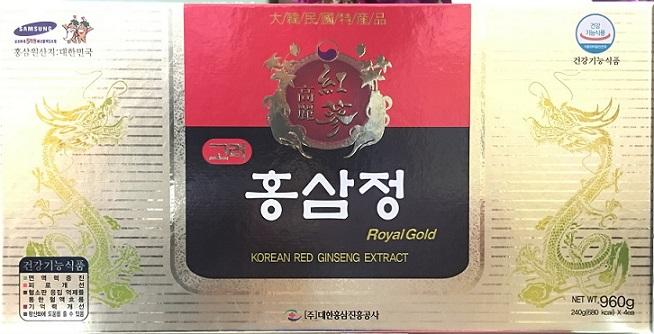 Cao hồng sâm royal gold daehan 4 lọ