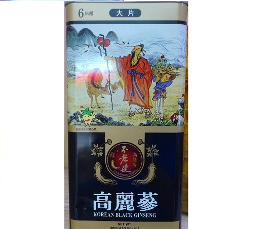 Hắc sâm củ khô Daedong 150gr - Korean Black Ginseng