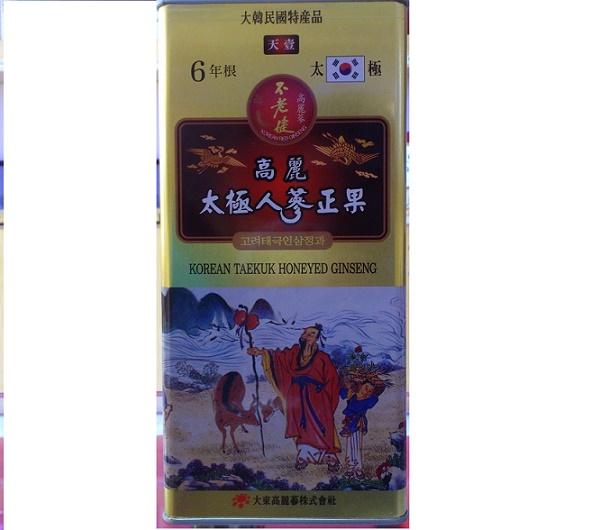 Thái cực sâm mật ong Daedong 300gr - Heaven(Thiên Sâm)