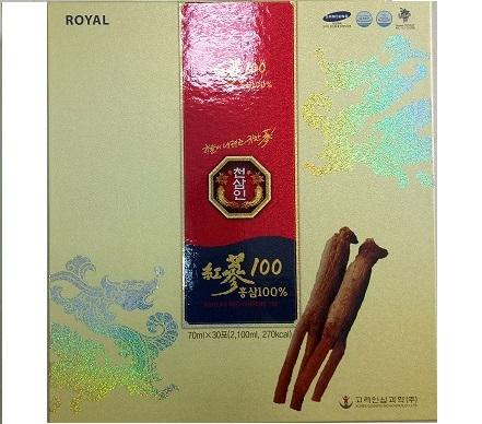 Nước tinh chất hồng sâm -100% BIO SCIENCE- Korea red ginseng 100