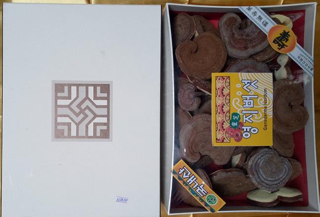 Nấm linh chi Hàn hộp giấy Buk Ung