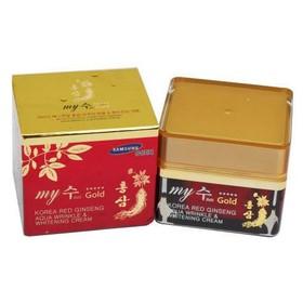 Kem Dưỡng Da Hồng Sâm Tổng Hợp-- korea red ginseng aqua wrinkle & whitening cream