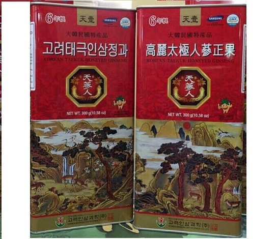 Sâm mật ong Bio science -korea taekuk honeyed ginseng 600gram