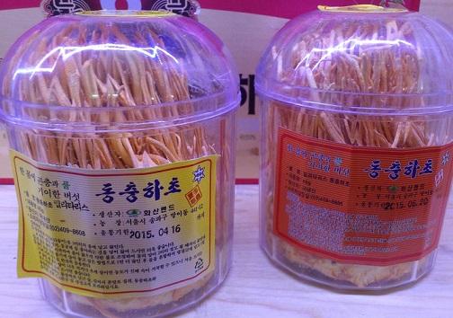 Bông đông trùng hạ thảo tươi - Đông trùng hạ thảo dạng bông Hàn Quốc
