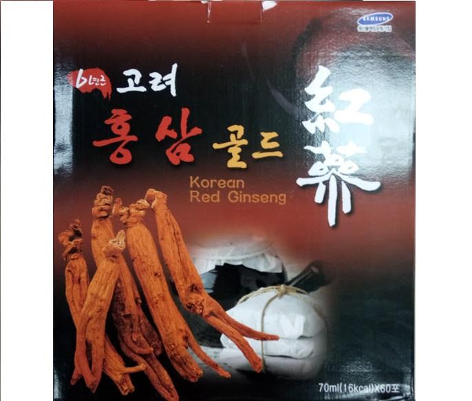 Nước tinh chất hồng sâm KNF koryo Red Ginseng tonic