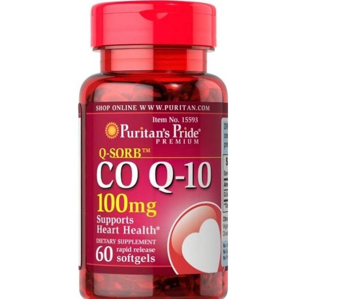 Viên  điều hòa tim mạch - CoQ10 Puritan's pride