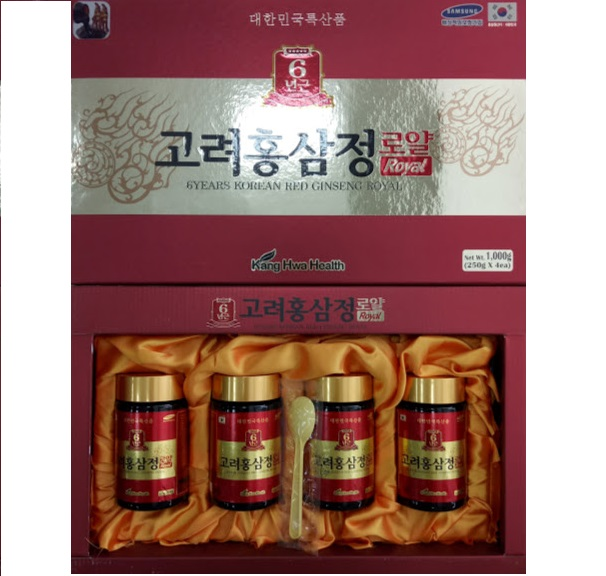 Cao hồng 4 lọ đỏ KangHwa Health 6 years red ginseng Royal
