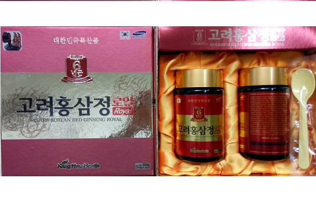 Cao hồng 2 lọ đỏ KangHwa Health 6 years red ginseng Royal