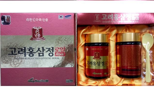 Cao hồng 2 lọ đỏ KangHwa Health 6 years red ginseng Royal