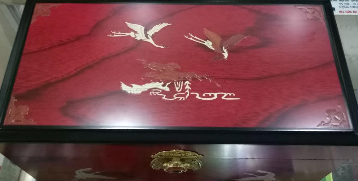 CAO HỒNG SÂM HÀN QUỐC 500 GRAM X 2 HŨ HỘP GỖ Kanghwa