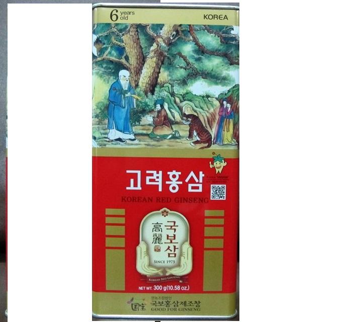 HỒNG SÂM CỦ KHÔ GOOD FOR GINSENG 300GR