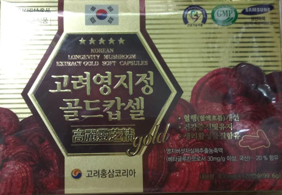 VIÊN LINH CHI HÀN QUỐC-Gyeongju Herbal Medicine
