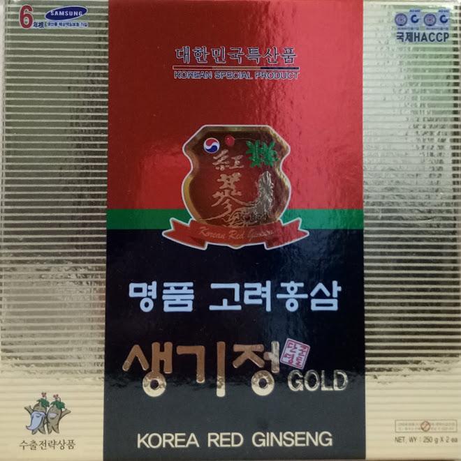 Cao hồng sâm korean red ginseng gold KangHwa