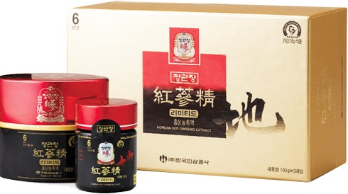 Tinh chất Cao hồng sâm lọ 100 gr Korea red ginseng extract limited KGC