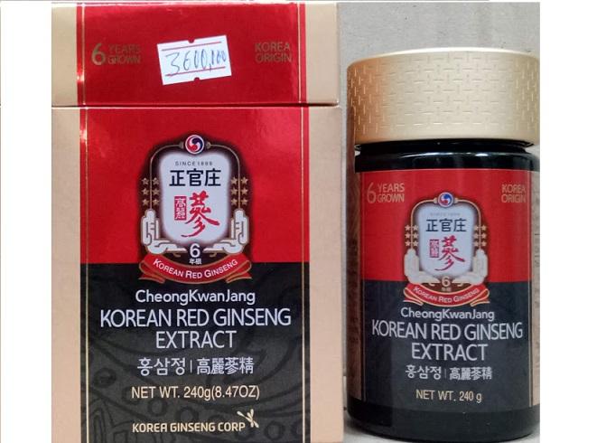 Tinh chất Cao hồng sâm lọ 240 gr cheong kwan jang