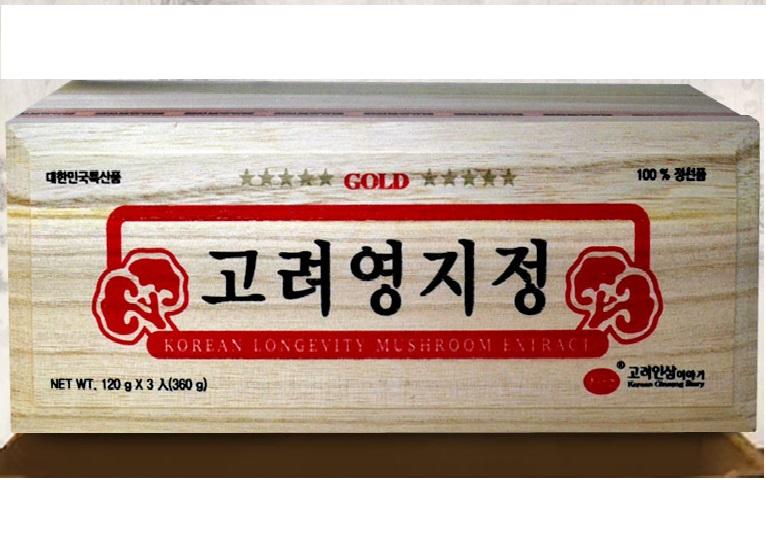Cao nấm linh chi hộp gỗ KGS - Korea Ginseng Story