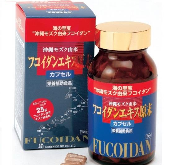 Fucoidan Dạng Viên Kanehide Bio - Nhật