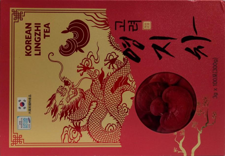 TRÀ LINH CHI HÀN QUỐC - JEONG WON