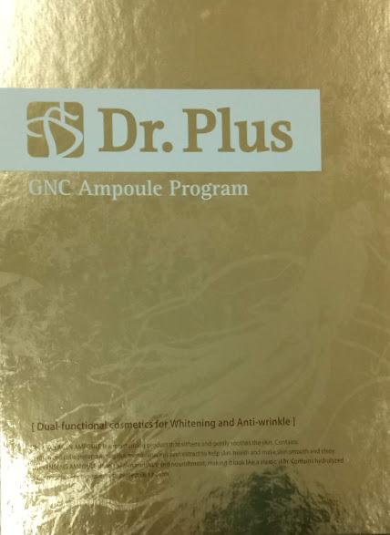 Collagen tái sinh Dr.Plus GNC Ampoule Program Collagen